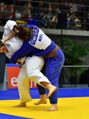 FREDERIQUE MAERTENS - 3e AU CHAMPIONNAT DE BELGIQUE SENIORS - HERSTAL - 4 NOVEMBRE 2017