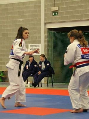 TOURNOI INTERNATIONAL INGELMUNSTER/SARAH DESMARTHON/U18 -57kgs