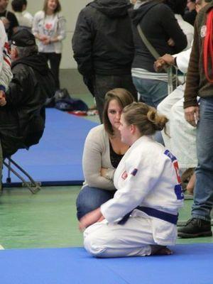 CHAMPIONNAT DU BRABANT:SARAH DESMARTHON 3EME ESPOIRS -57kgs
