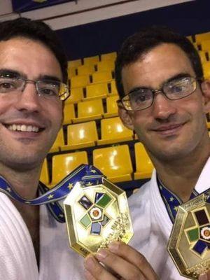 LES FRERES GILON - CHAMPIONS D'EUROPE EN KATAME-NO-KATA - HENRI-NICOLAS A L'EUROPEAN CUP JUNIORS DE PRAGUE - ARBITRAGE (20 & 21 JUILLET 2019) - FELICITATIONS !