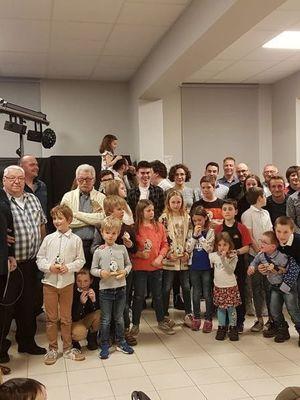 MERCI A TOUS POUR VOTRE PRESENCE !!!! INVITATION SOUPER ANNUEL DE CLUB - 23 MARS 2019 - LONGUEVILLE + MISE A L'HONNEUR DE NOS MEMBRES MERITANTS : ON VOUS ATTEND NOMBREUX !