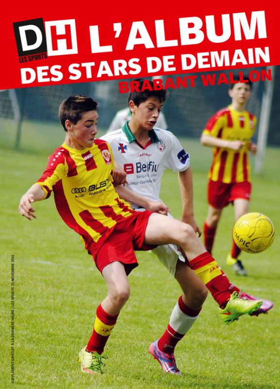 "DH LES SPORTS - SUPPLEMENT ""ALBUM DES STARS DE DEMAIN "" EN LIBRAIRIE LE 24 NOVEMBRE 2017 - PHOTO ET PDF EN ANNEXE !"