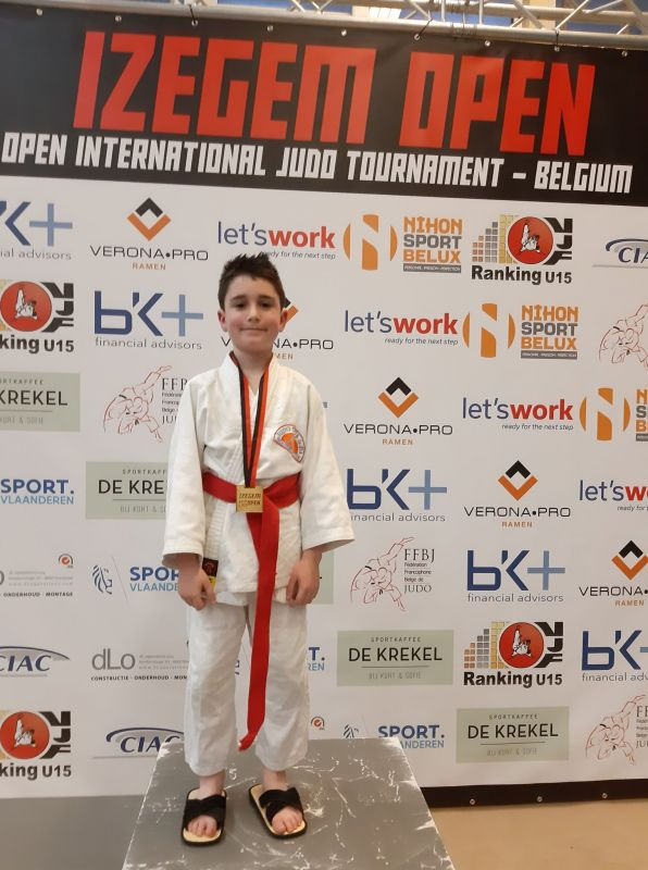 IZEGEM OPEN FOR KIDS – 2 MARS 2019 – WILLIAM SERGENT + SHIAI WELLIN – 3 MARS 2019 : DES POINTS POUR NOS MEMBRES ET 6 POINTS EN UN SEUL SHIAI POUR GREGORY LIROUX !