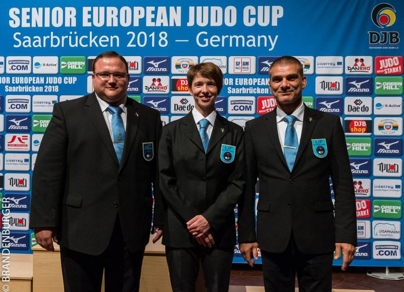 EUROPEAN CUP SENIORS - SAARBRÜCKEN - GERMANY - 14 & 15/7/2018 - ARBITRAGE : HN RENDERS - NEXT STEP : EUROPEAN OPEN MINSK (BELARUS) ! BONNE CONTINUATION A NOTRE PRESIDENT !